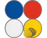 Frisbee, faltbar mit Etui aus Polyester